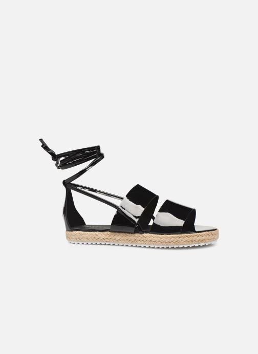 Espadrilles Pieces ANNI SANDAL Black back view