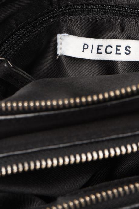 Handbags Pieces EVELINE SUEDE CROSS BODY Black back view