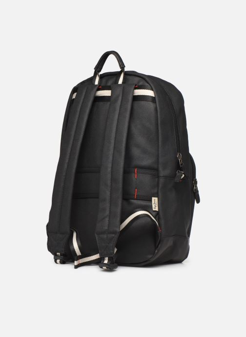 Rucksacks Pepe jeans STRIKE LAPTOP BACKPACK Black view from the right