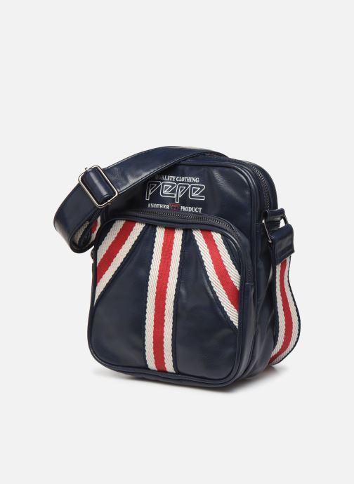 Herrentaschen Pepe jeans YASUR BAG blau schuhe getragen