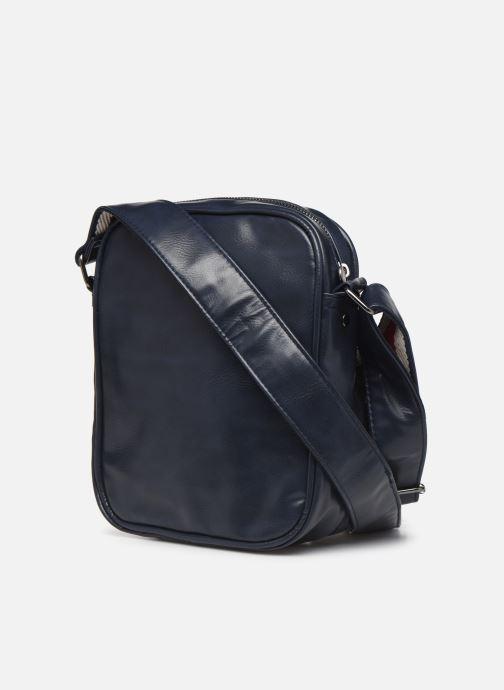 Herrentaschen Pepe jeans YASUR BAG blau ansicht von rechts