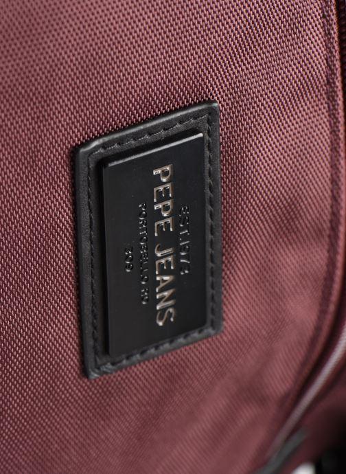 Sacs à dos Pepe jeans LAMBERT LAPTOP BACKPACK Bordeaux vue gauche