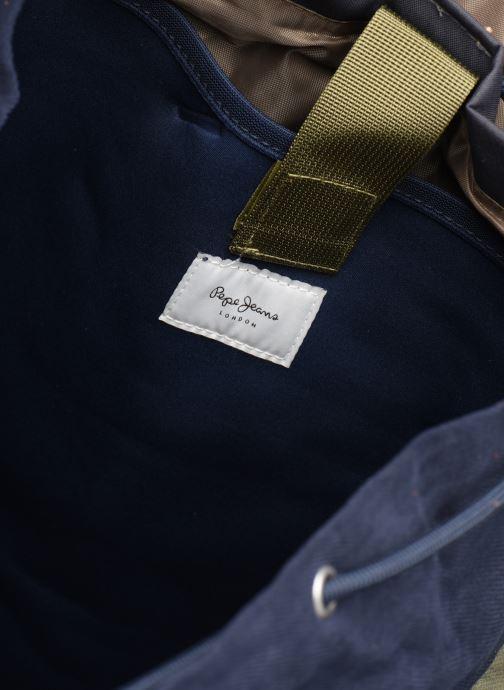 Sacs à dos Pepe jeans MERAPI BACKPACK Bleu vue derrière