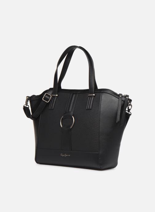 Handbags Pepe jeans BAG DAPHNE Black model view