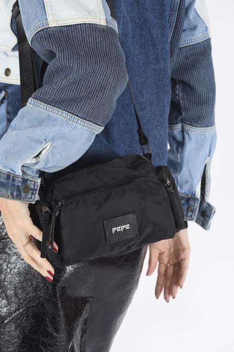 Sacs à main Pepe jeans AFRICA BAG Noir vue bas / vue portée sac