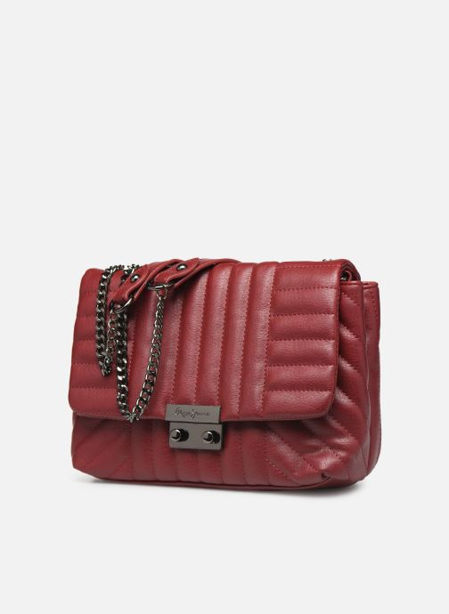 Handbags Pepe jeans ADRIANA BAG Red model view