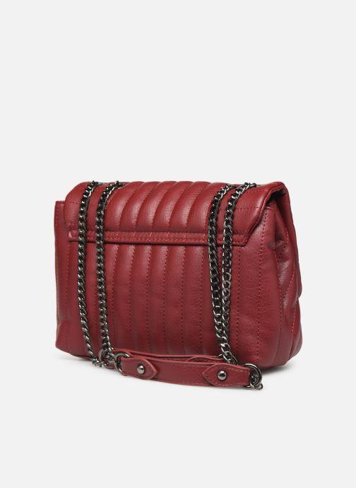 Handtassen Pepe jeans ADRIANA BAG Rood rechts