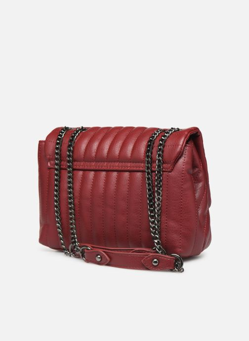 Handbags Pepe jeans ADRIANA BAG Red view from the right