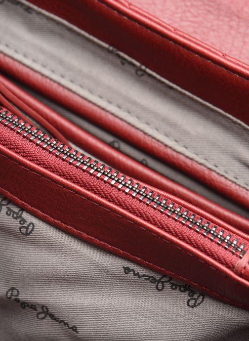 Handtassen Pepe jeans ADRIANA BAG Rood achterkant