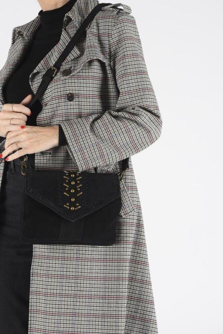 Handbags Pepe jeans IRENE BAG Black view from underneath / model view