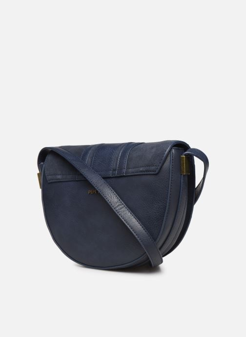Handbags Pepe jeans CLAUDI BAG Blue view from the right
