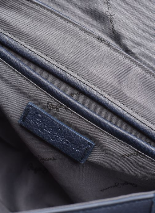 Handtassen Pepe jeans CLAUDI BAG Blauw achterkant