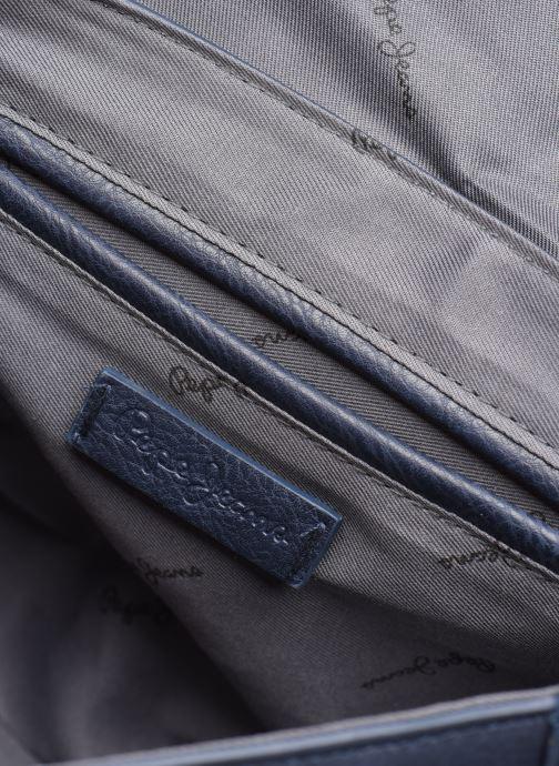 Handbags Pepe jeans CLAUDI BAG Blue back view