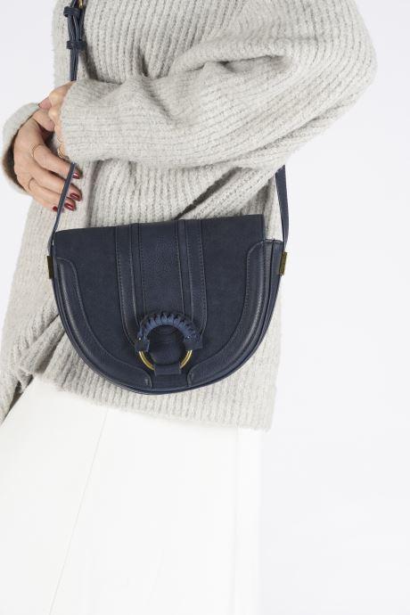 Handbags Pepe jeans CLAUDI BAG Blue view from underneath / model view