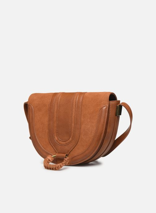 Handtassen Pepe jeans CLAUDI BAG Bruin model