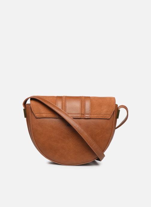 Handtaschen Pepe jeans CLAUDI BAG braun ansicht von vorne