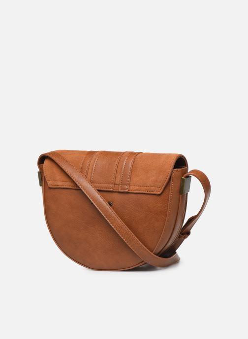 Handtaschen Pepe jeans CLAUDI BAG braun ansicht von rechts