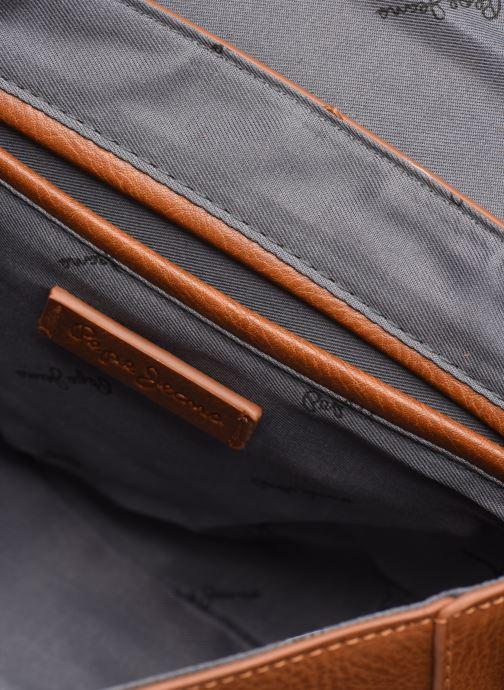 Handtaschen Pepe jeans CLAUDI BAG braun ansicht von hinten