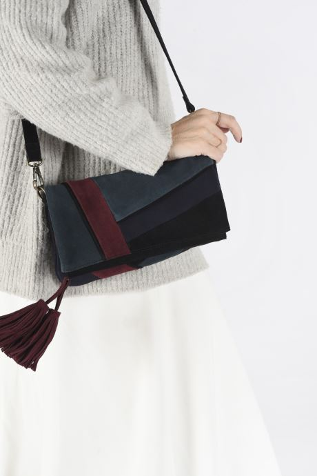 Handtaschen Pepe jeans BLANCA BAG mehrfarbig ansicht von unten / tasche getragen
