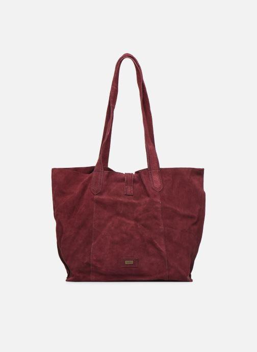 Handbags Pepe jeans BERTA BAG Burgundy front view