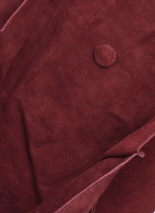 Handbags Pepe jeans BERTA BAG Burgundy back view