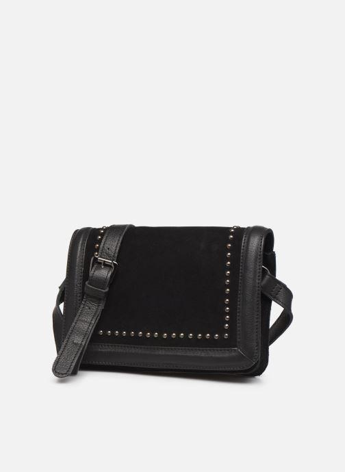 Handtaschen Pepe jeans INES BAG schwarz schuhe getragen