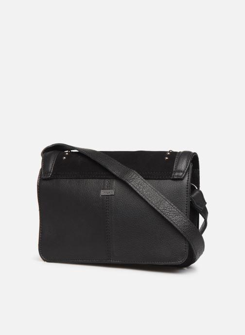 Handtaschen Pepe jeans INES BAG schwarz ansicht von rechts