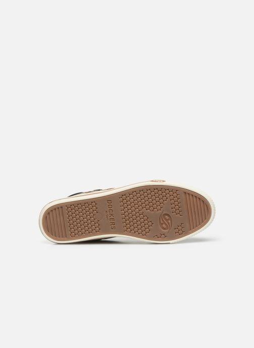 Sneaker Dockers Auri braun ansicht von oben