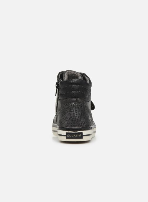Trainers Dockers Auri Black view from the right