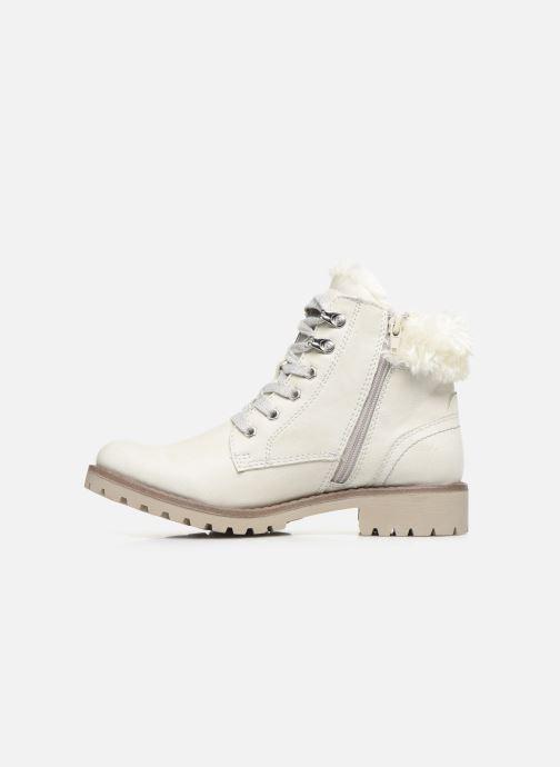 Bottines et boots Dockers Elena 2 Blanc vue face