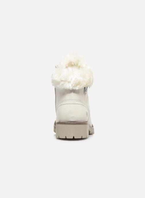 Bottines et boots Dockers Elena 2 Blanc vue droite