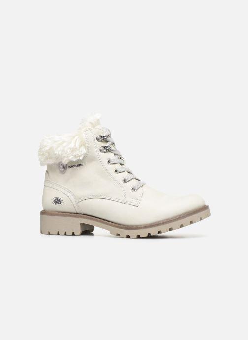 Bottines et boots Dockers Elena 2 Blanc vue derrière