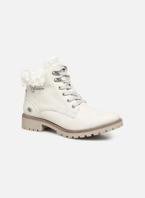 Bottines et boots Dockers Elena 2 Blanc vue détail/paire