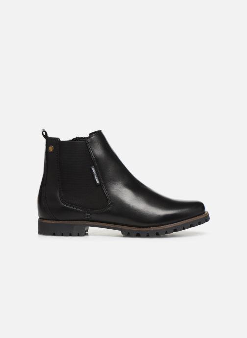 Bottines et boots Dockers Lise Noir vue derrière