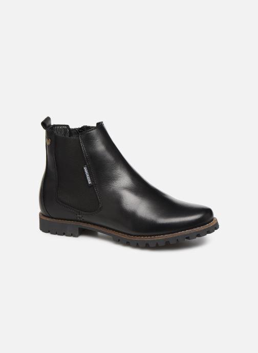 Bottines et boots Dockers Lise Noir vue détail/paire