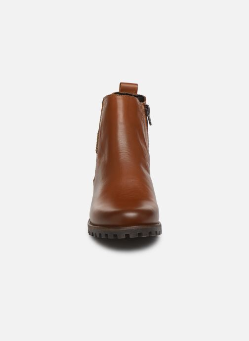 Ankle boots Dockers Lise Brown model view