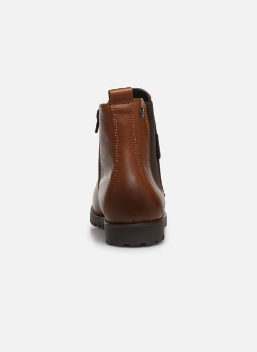 Bottines et boots Dockers Lise Marron vue droite