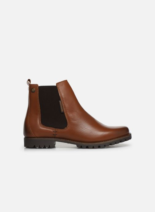 Ankle boots Dockers Lise Brown back view
