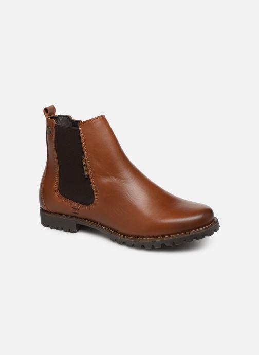 Bottines et boots Dockers Lise Marron vue détail/paire