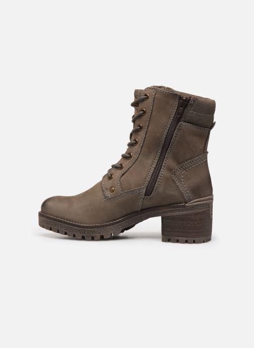 Bottines et boots Dockers Poli Gris vue face