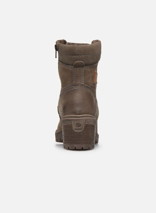Ankle boots Dockers Poli Grey view from the right