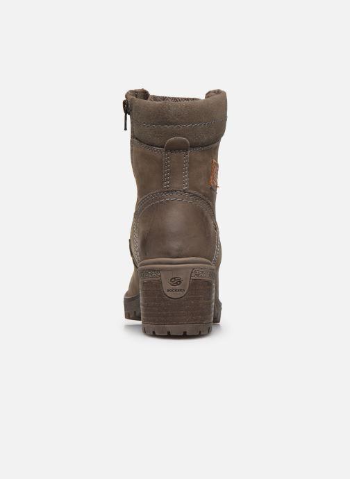 Bottines et boots Dockers Poli Gris vue droite
