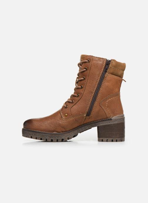 Bottines et boots Dockers Poli Marron vue face