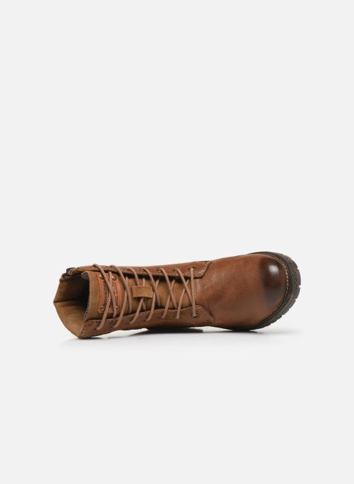 Bottines et boots Dockers Poli Marron vue gauche