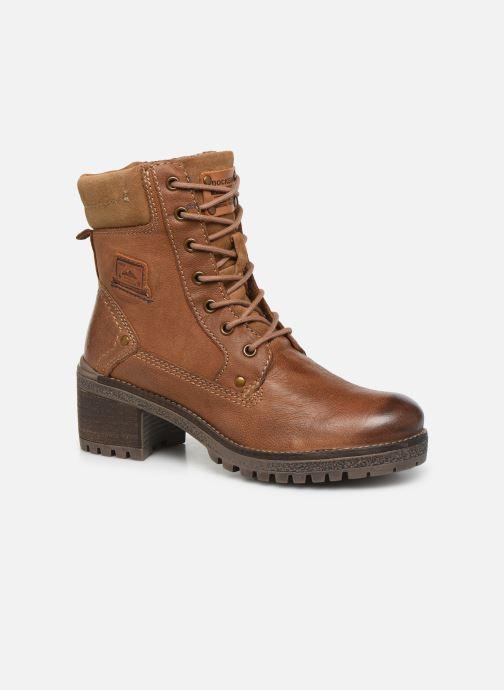 Bottines et boots Dockers Poli Marron vue détail/paire