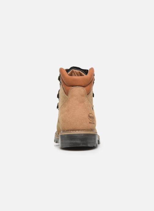 Bottines et boots Dockers Taon Marron vue droite
