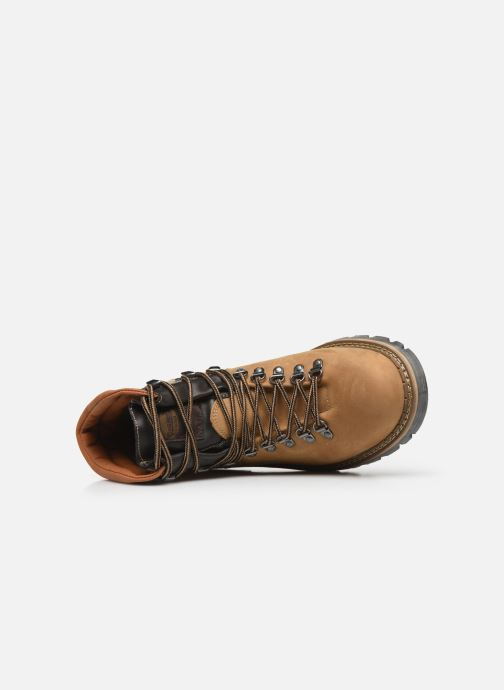 Ankle boots Dockers Taon Brown view from the left