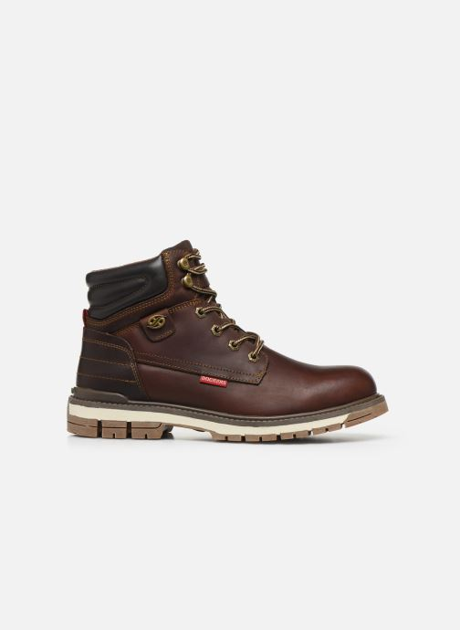 Ankle boots Dockers Alb Brown back view