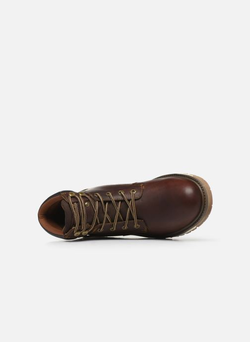 Ankle boots Dockers Alb Brown view from the left