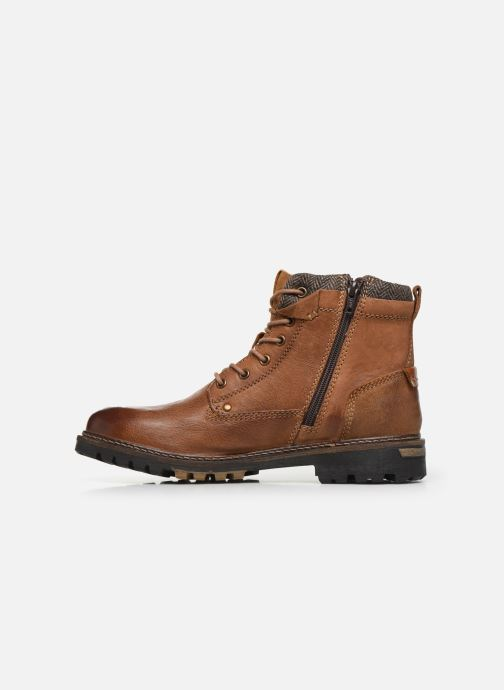 Ankle boots Dockers Mola Brown front view